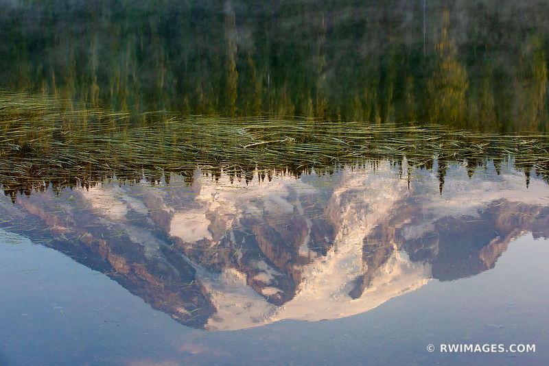 MOUNT RAINIER NATIONAL PARK WASHINGTON STATE REFLECTION LAKE