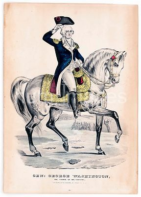 Gen George Washington, the father of his country ca 1835-1856
