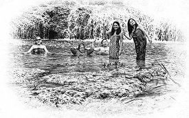 16.5_Laos_beauties_in_water_B_W_sized