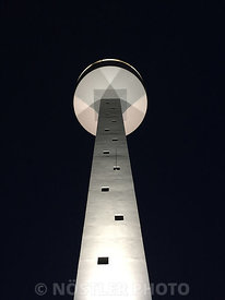 Coastguard tower - White
