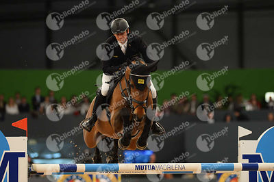 KUTSCHER Marco, (GER), Chaccorina  during CSI5-W_1,60_Longines World Cup Grand Prix competition at Madrid Horse Week at IFEMA...