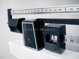 Hospital Medical Sliding Weight Beam Scale