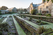 The Terraces. Cotehele, St Dominick, nr Saltash, Cornwall, UK