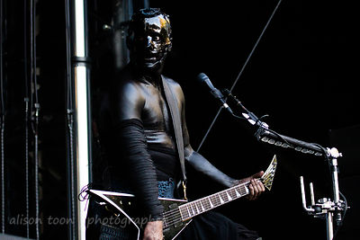 Wes Borland of Limp Bizkit Aftershock 2014