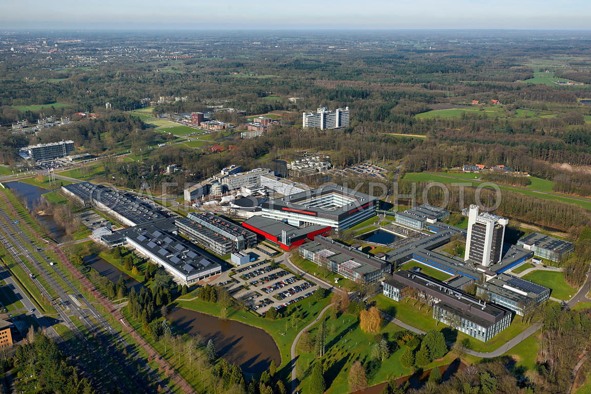 Aerial View University Of Twente Universiteit Twente Is A University Located In Enschede The Netherlands