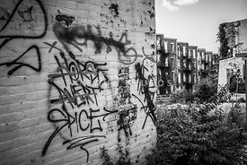 Cincinnati Abandoned Buildings Graffiti