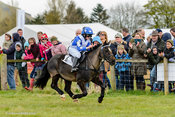 Conner McCann on My Little Chief at Balcormo Point-to-Point on 23 Apr 2016.