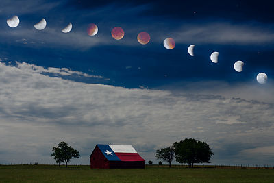 Texas Lunar Eclipse
