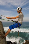 Abseiling, Coffee Bay, Wild Coast, Eastern Cape, South Africa