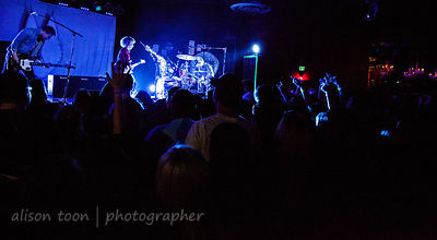 SACRAMENTO, CA - MARCH 23: Joy Formidable, performing at the Ace of Spades, Sacramento CA, on March 20rd 2013.