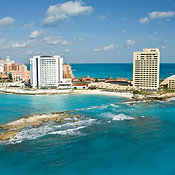 The Hotel Zone At Punta Cancun,.Cancun