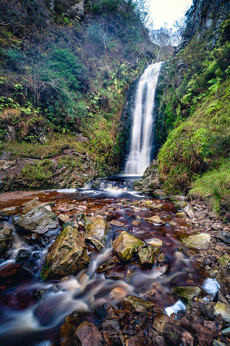 Glenevin Waterfall Winter