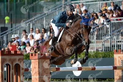 Pablo BARRIOS ,(VEN), ANTARES during Longines Cup of the City of Barcelona competition at CSIO5* Barcelona at Real Club de Po...
