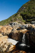 waterfall, Otter trail, Tsitsikama National Park, Garden Route, South Africa