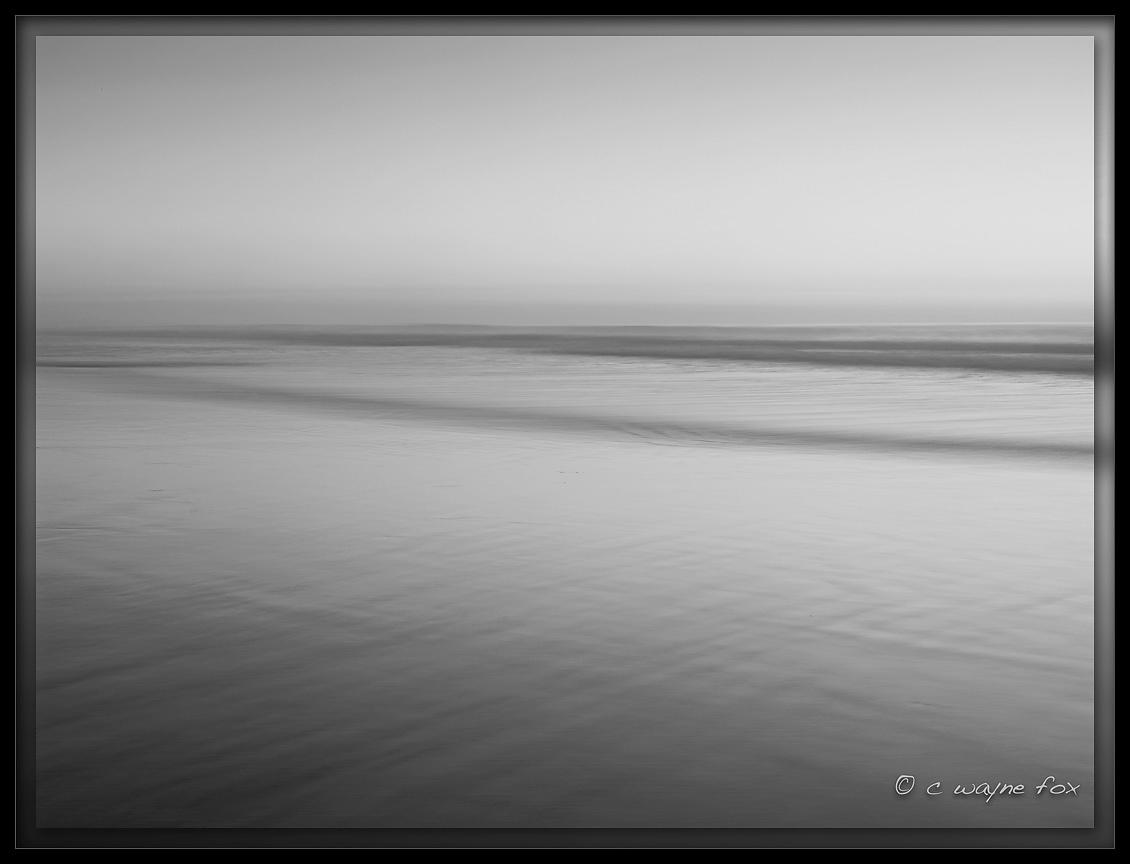 Soft Tides in Black and White