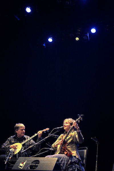 Hoopla - Béla Fleck and Abigail Washburn, Englert Theatre, February 24, 2015