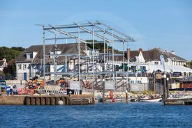 Parkstone Yacht Club's new clubhouse under construction, 20160826348