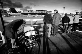 Albion Rovers..Cliftonhill Stadium, Coatbridge..30.10.10.Albion 3-1 Clyde..Picture Copyright:.Iain McLean,.79 Earlspark Avenu...