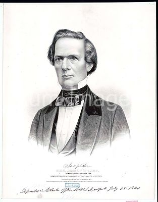 Hon. Joseph Lane Democratic candidate for sixteenth vice president of the United States