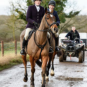The Cottesmore Hunt at Launde Park Farm 26/1