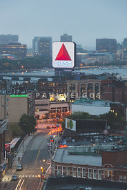 Boston Skyline Aerial Photo with Citgo Sign