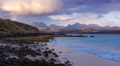 Torridon Mountains from the Sands beach.