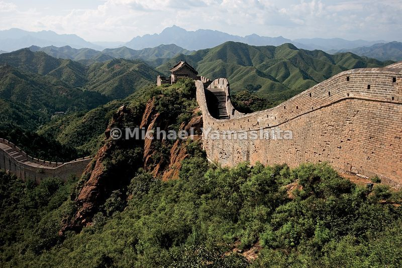 The Ming Wall was longer, higher, wider and better fortified than any previous wall built before this dynasty.