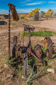 Old Hay Cutter at Hubbell Trading Post
