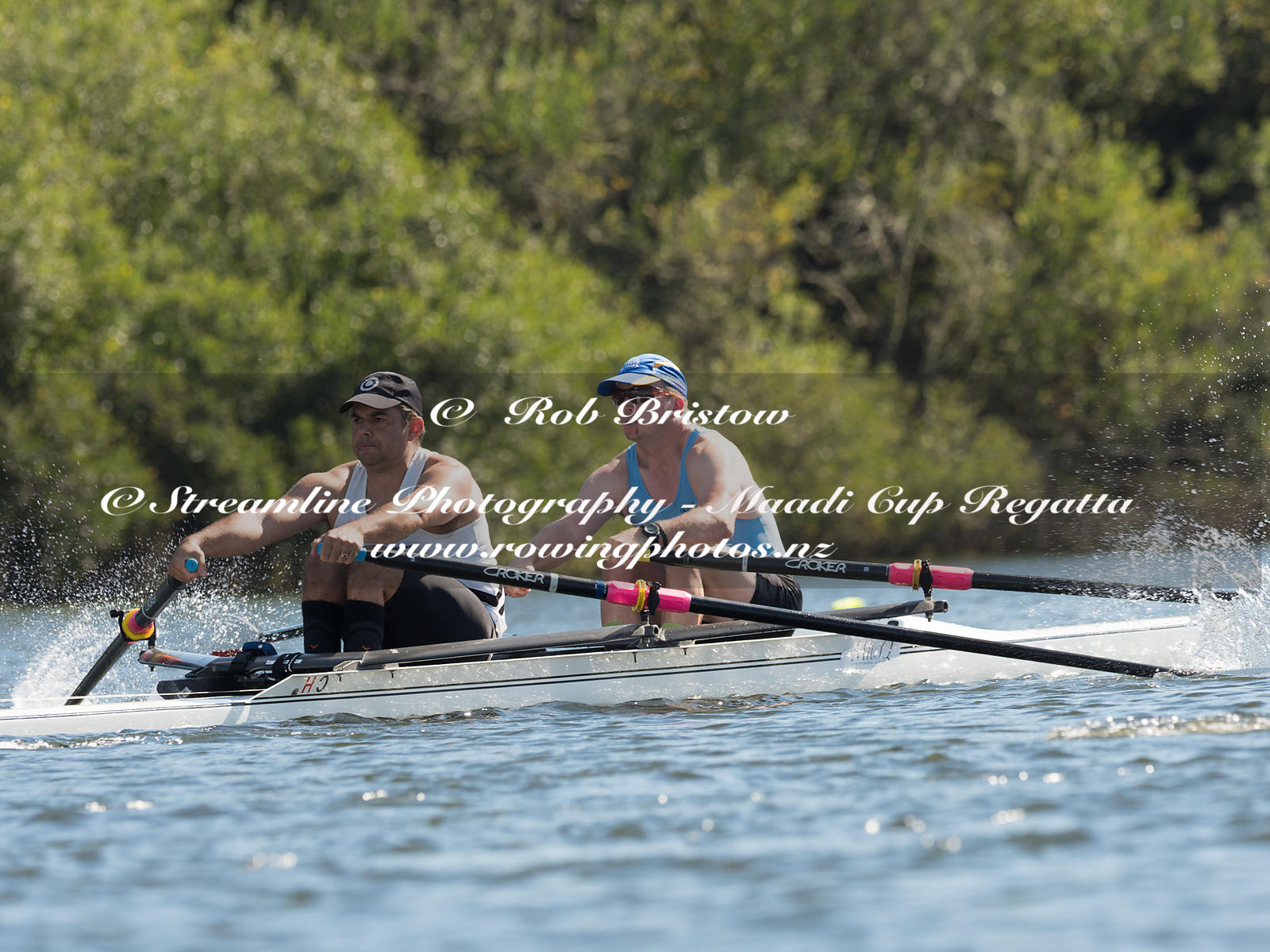 Taken during the World Masters Games - Rowing, Lake Karapiro, Cambridge, New Zealand; ©  Rob Bristow; Frame 3803 - Taken on: ...