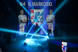 Velko MARKOSKI of PPD Zagreb during the Final Tournament - Final Four - SEHA - Gazprom league, third place match, Varazdin, C...