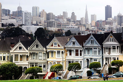 The Painted Ladies San Francisco Californie USA 10/12
