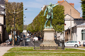 Photo de la place Mellinet