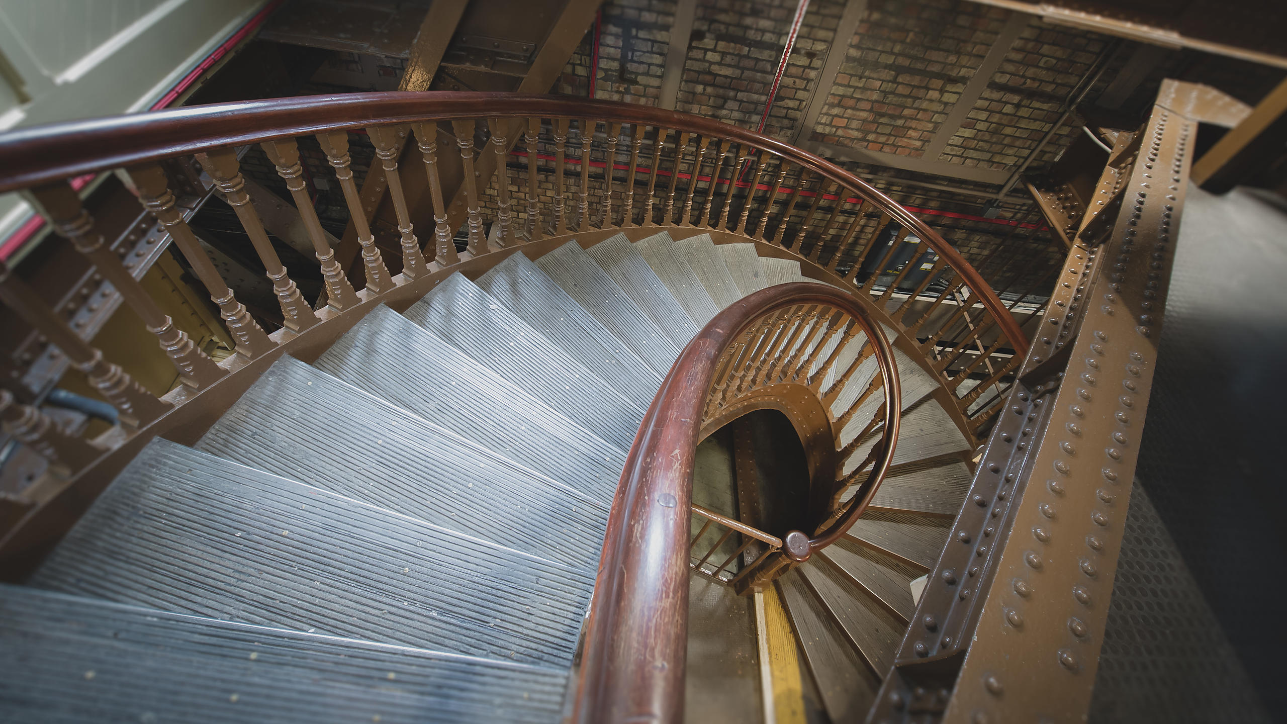 Spiral Staircase; Tower Bridge