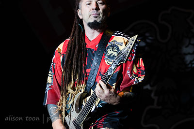 Zoltan Bathory, guitar, Five Finger Death Punch