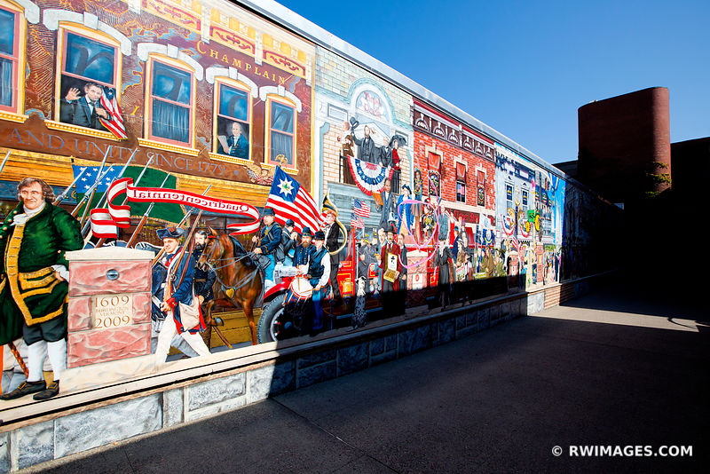 CHURCH STREET MARKETPLACE MURAL BURLINGTON VERMONT