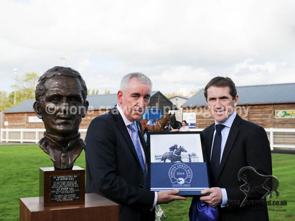 AP McCoy Sculpture