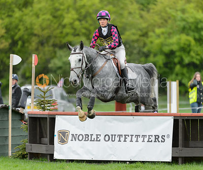 Lucy Clements and CLOUDY BAY VI - Rockingham International Horse Trials 2017