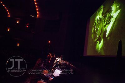 Alloy Orchestra at the Englert Theatre, Iowa City, October 11, 2012