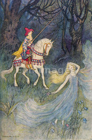 Sir Thopas by Warwick Goble