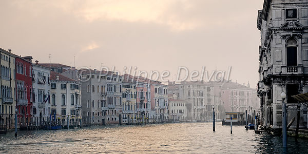 Grand Canal, Venise, Philippe Delval