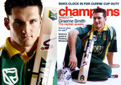 Graeme Smith, captain of the Proteas, the South African National Cricket Team.Date: circa 2004.Location: Danie Nel Photograph...