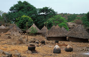 Iwol, Bedik village, Bassari country, Senegal