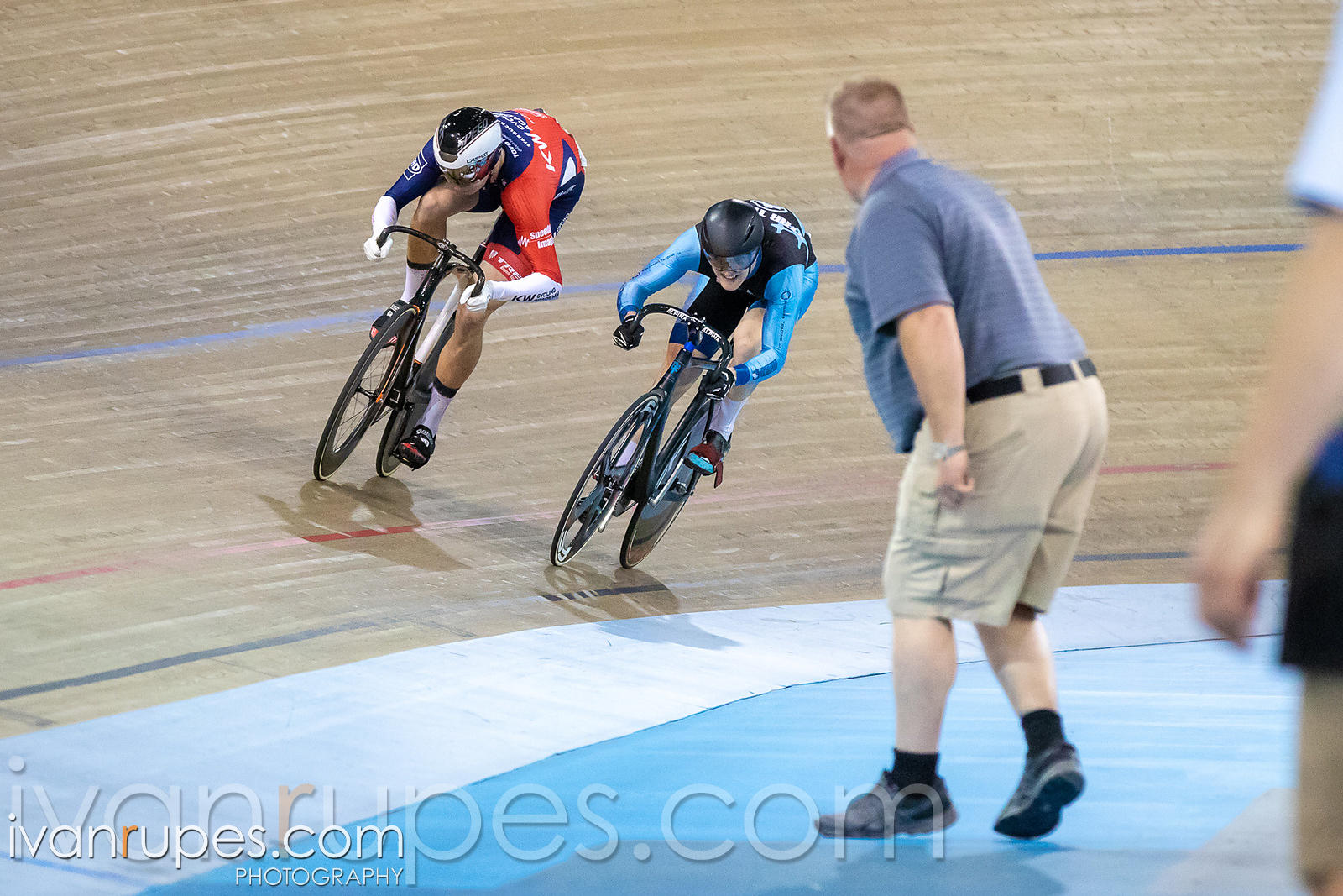 Men Sprint 1-2 Final. Ontario Track Championships, March 2, 2019