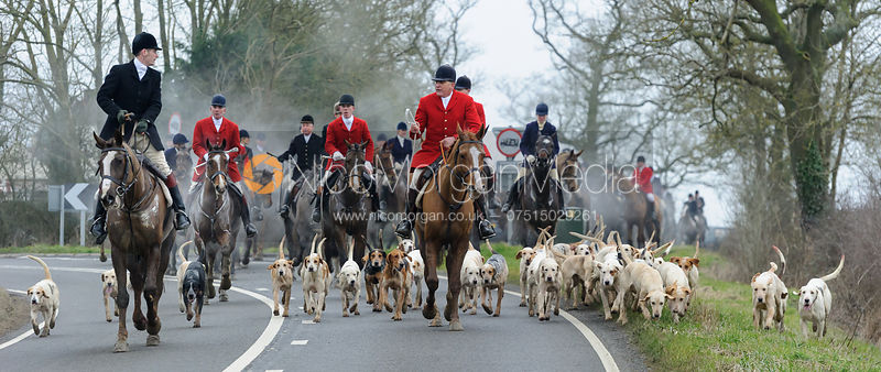 The Cottesmore & Quorn Hunts at the Quorn Kennels 11/2