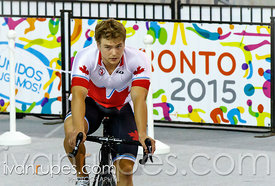Track Day 1, Toronto 2015 Pan Am Games, Milton Pan Am/Parapan Am Velodrome, Milton, On; July 16, 2015