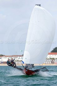 18ft Skiff European Grand Prix, Sandbanks, 20160904235