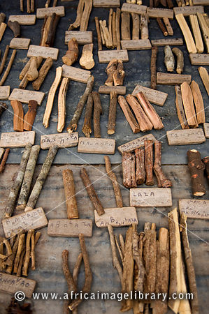 traditional medicine in the market, Toliara, Madagascar
