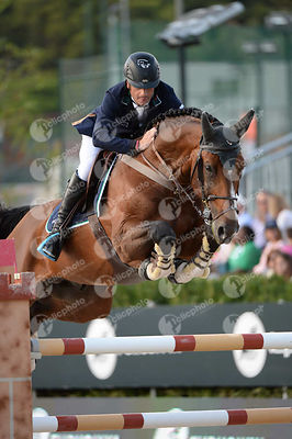 Denis LYNCH  ,(IRL), ALL STAR 5 during Longines Cup of the City of Barcelona competition at CSIO5* Barcelona at Real Club de ...