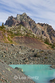 Tarn in Royal Basin of Olympic National Park