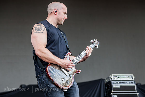 All That Remains at Chicago Open Air 2016